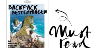 Today we read: backpack bestemmingen