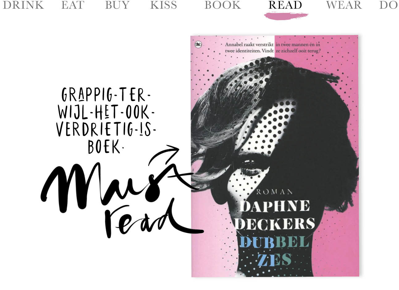 boek van daphne deckers, must read