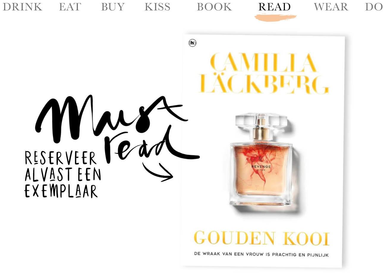 Boek Gouden Kooi van Camilla Lackberg Today We