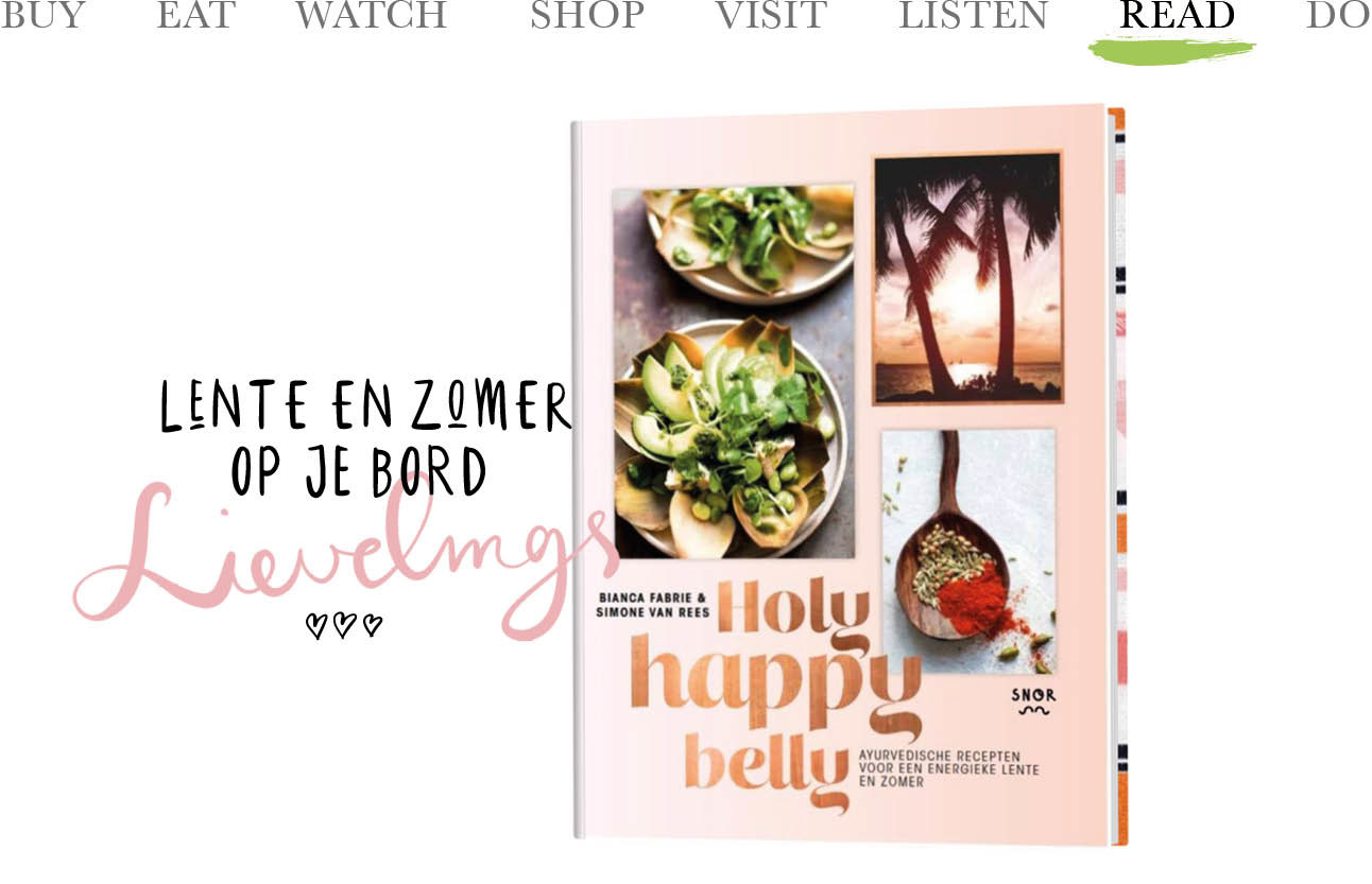 Today we read 'Holy Happy Belly'