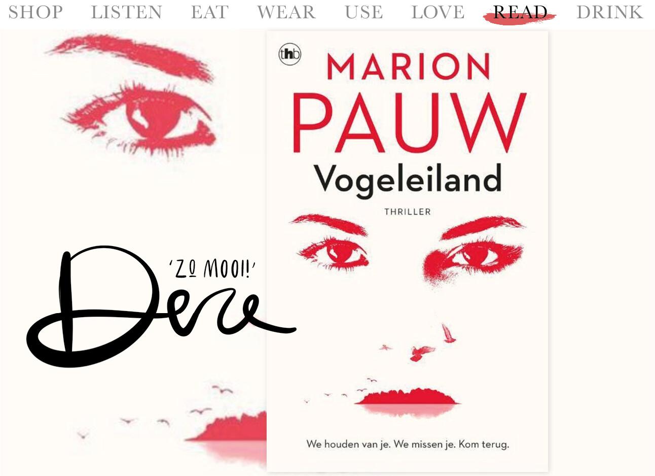 Today we read vogeleiland van Marion Pauw