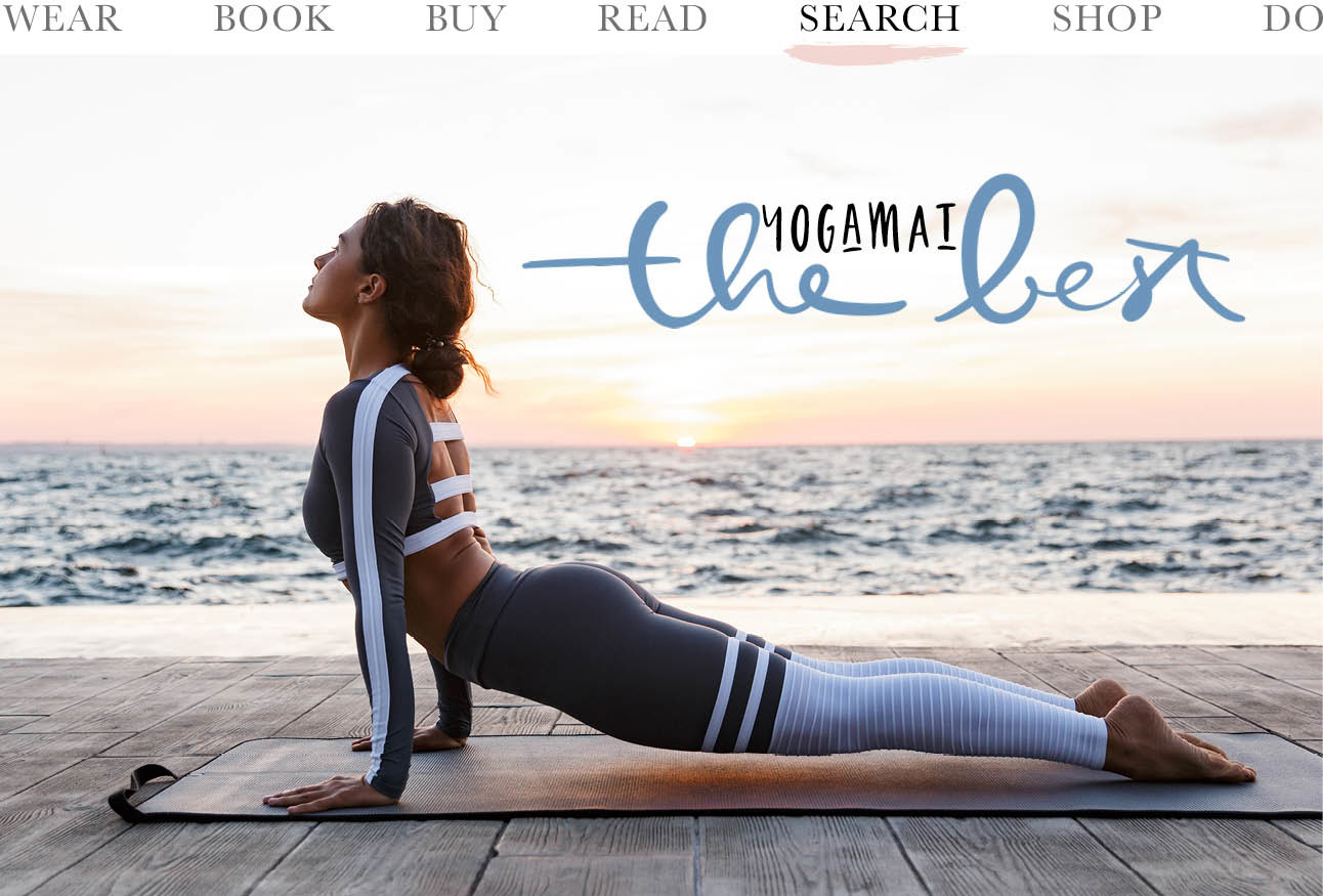 yoga pose mat