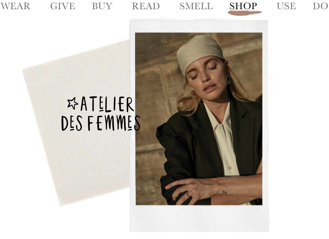 Today we shop at Atelier des Femmes