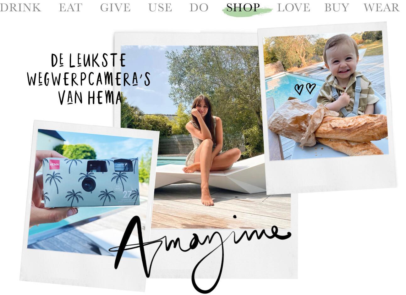 Today we shop de leukste wegwerpcamera's van Hema