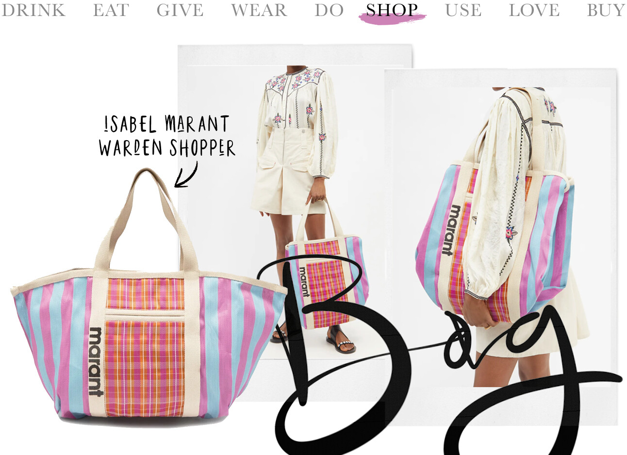 Today we shop: Isabel Marant Warden shopper