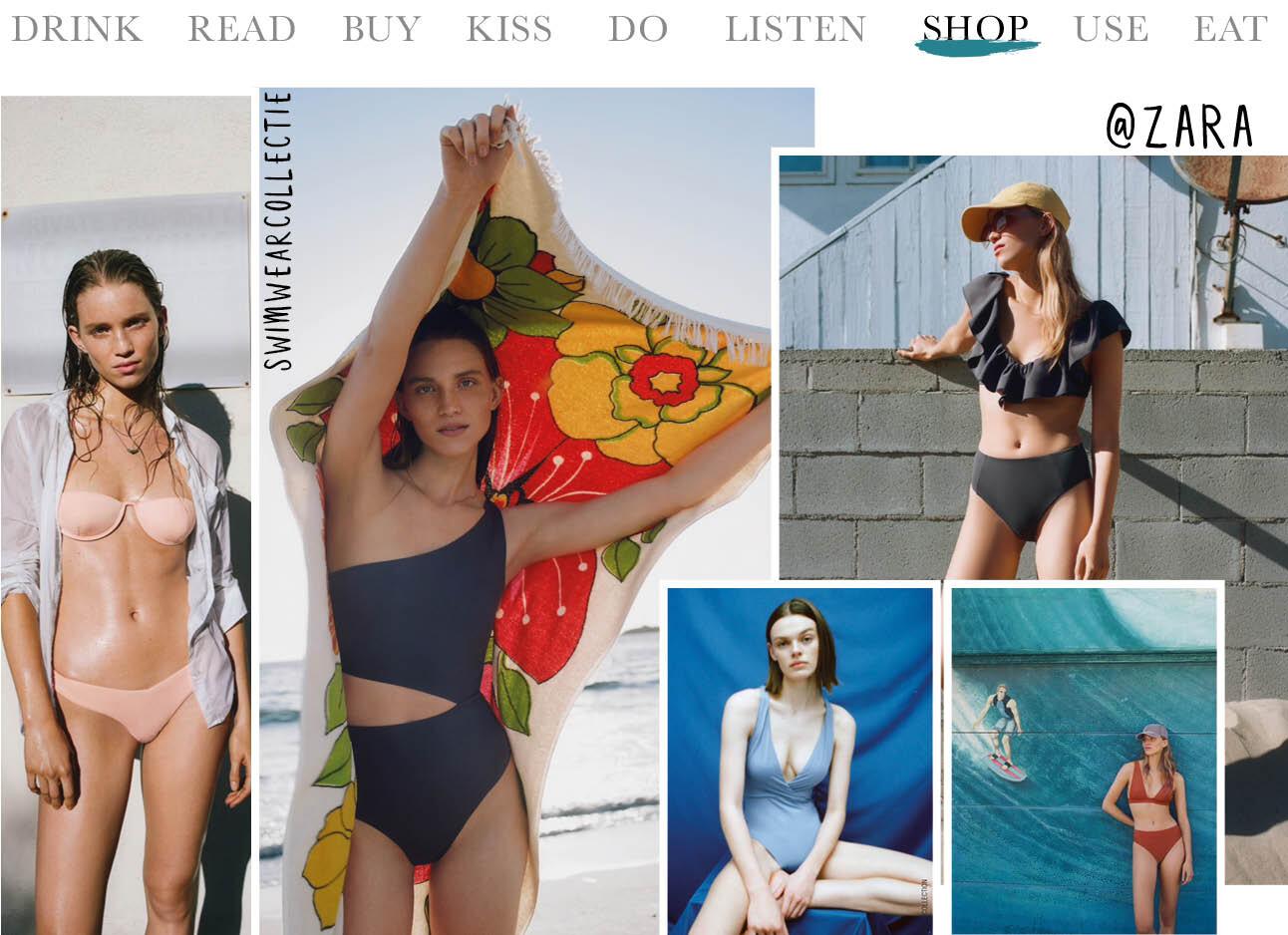 Just in: Zara's beachwearcollectie