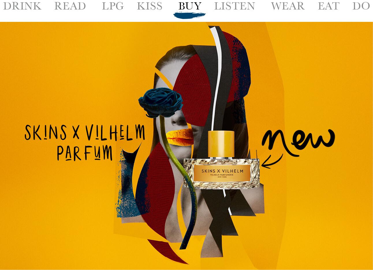 : Skins x Vilhelm parfum