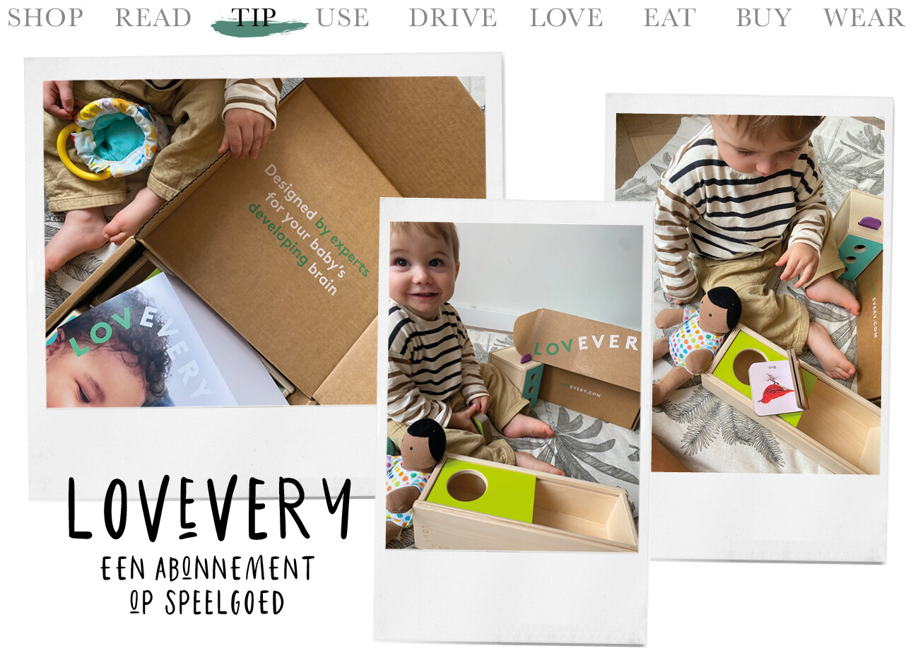 Today we tip Lovevery
