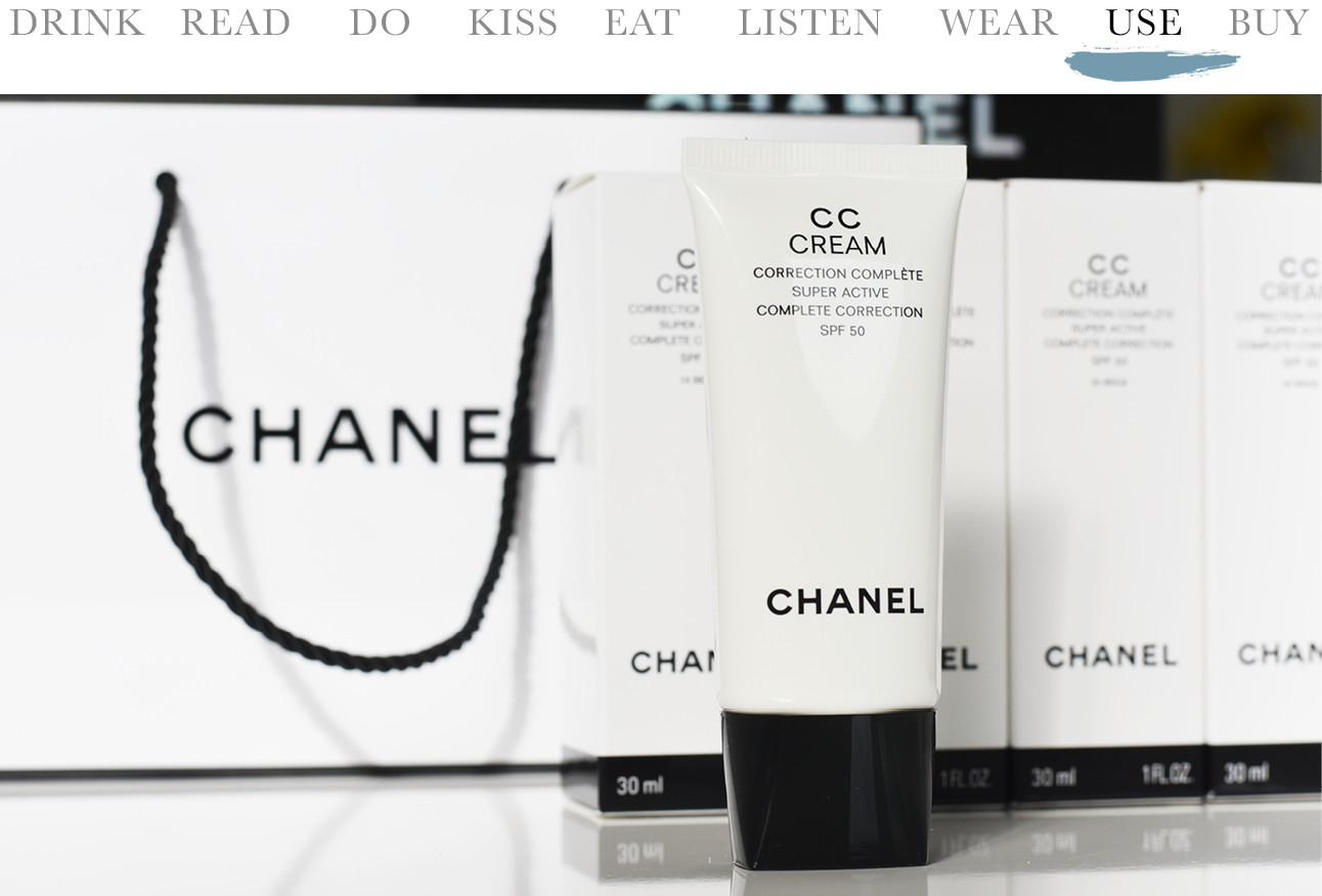Today we…Use Chanel CC Cream