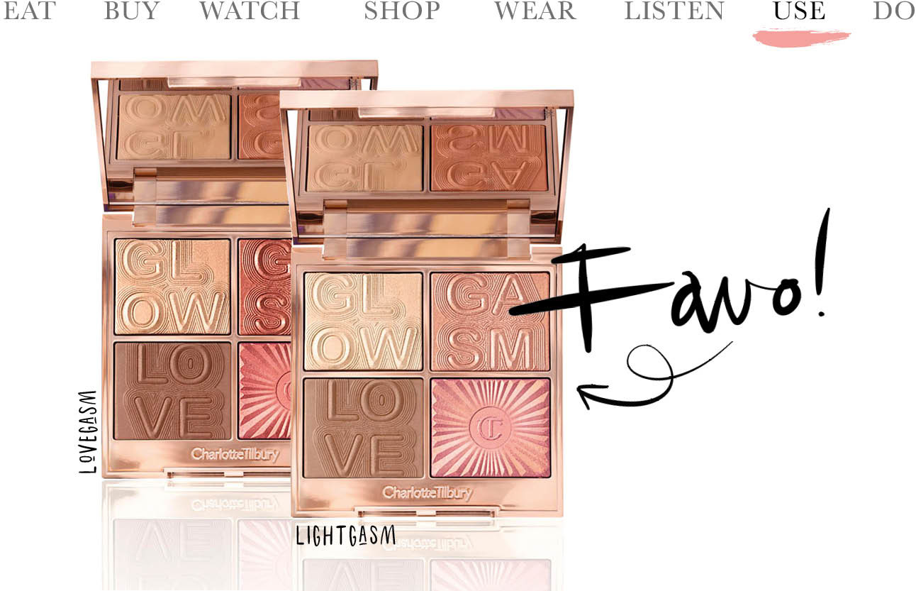 Today we want GLOGASM van Charlotte Tilbury