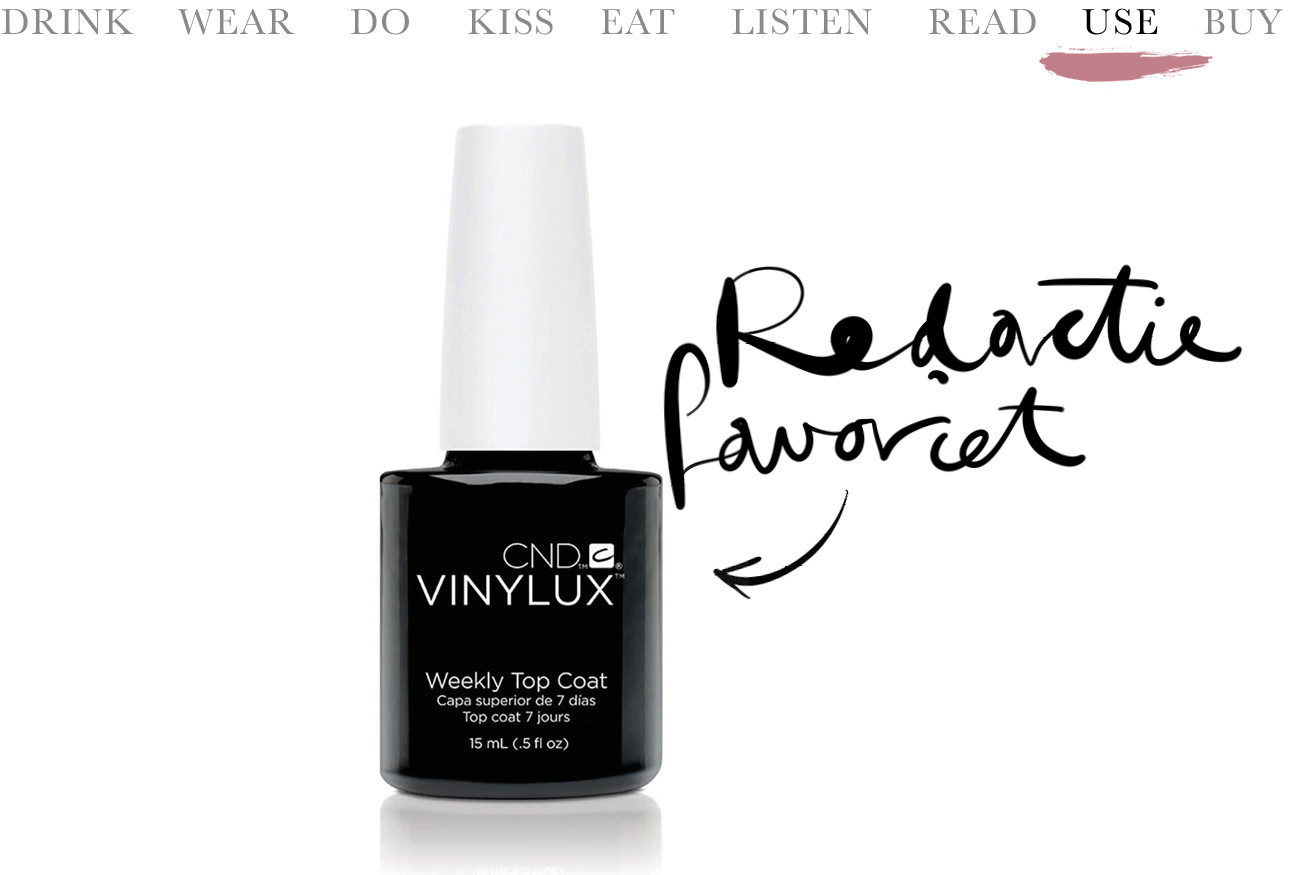 Today we use de beste topcoat ever