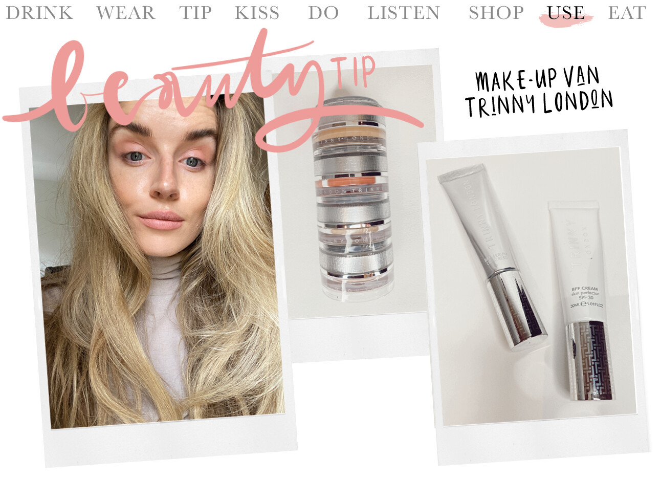 Trinny London makeup look Lotte van scherpenzeel