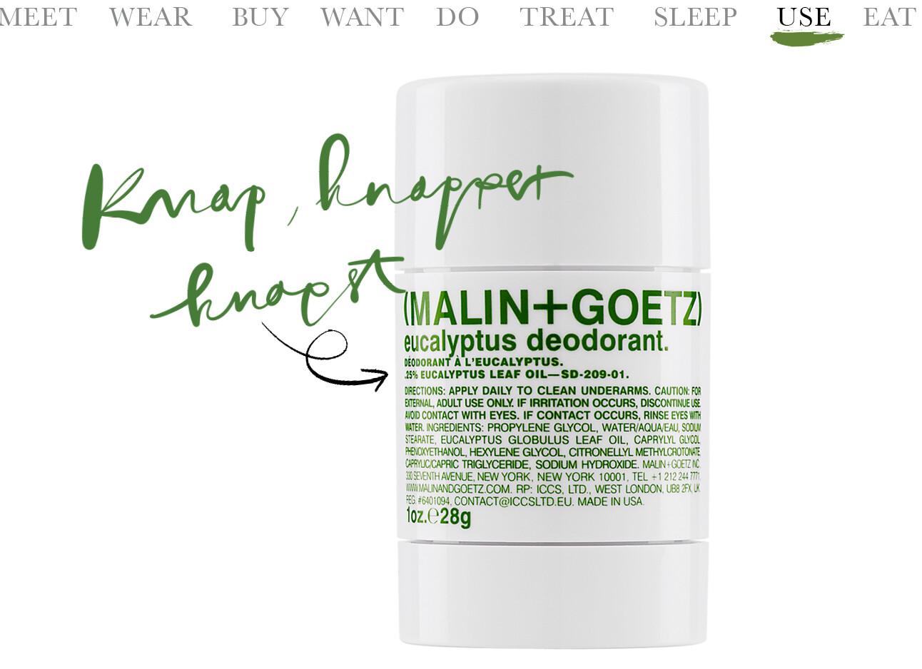 MALIN +GOETZdeodorant
