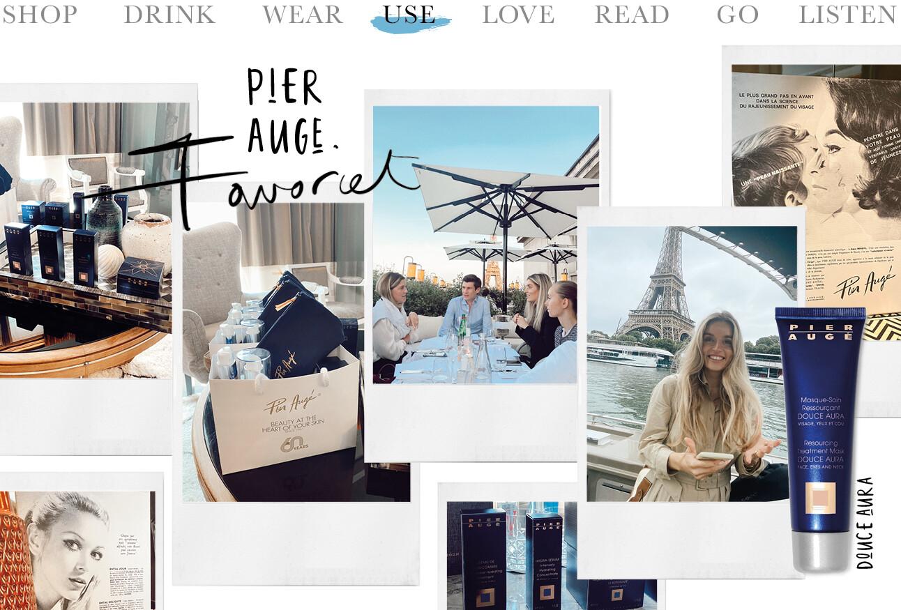 Today we use: Pier Augé in Parijs Lotte