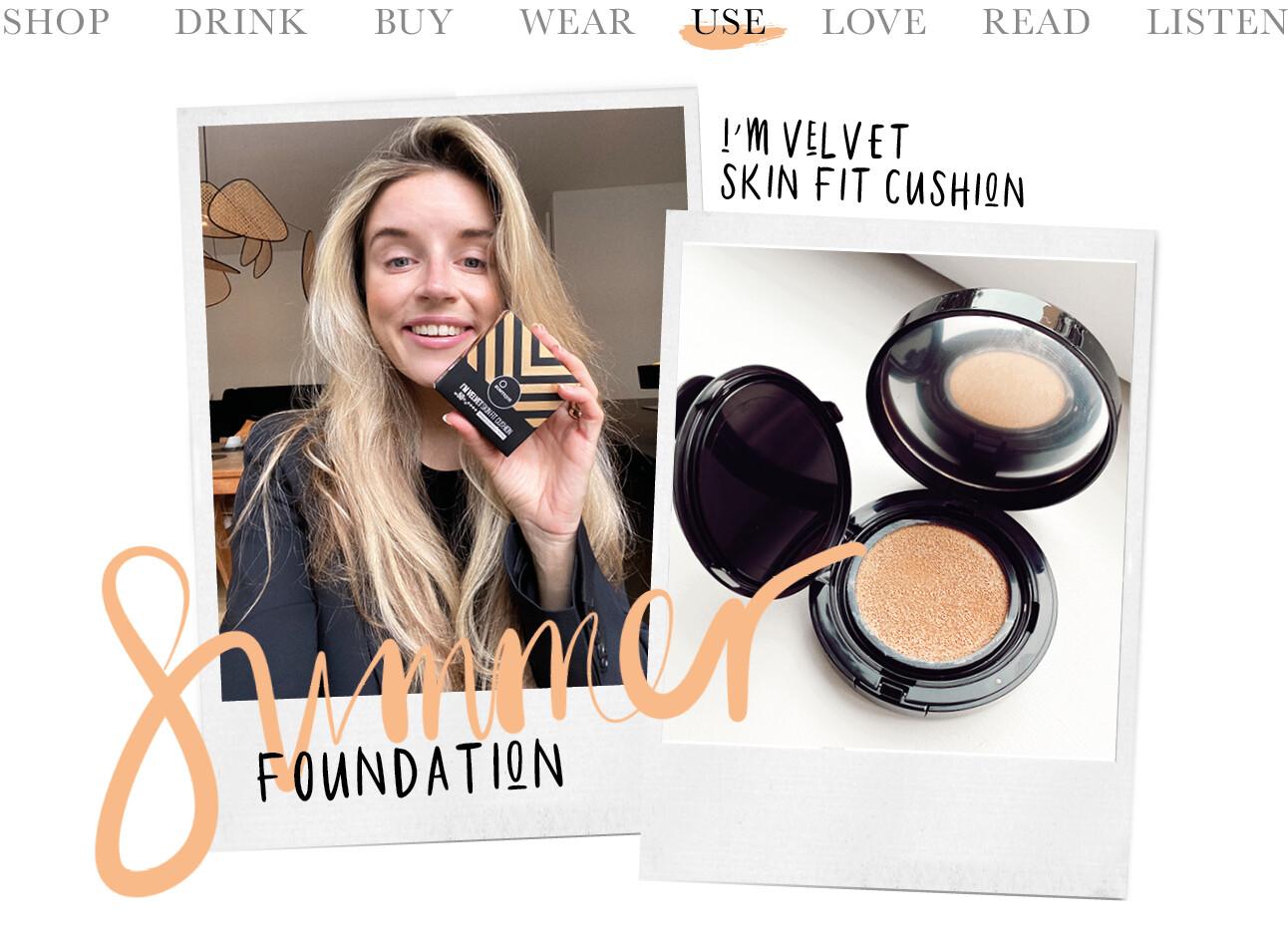 Suntique foundation I'm Velvet skin fit cushion