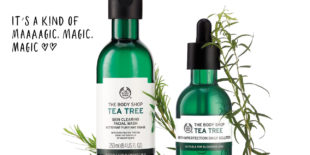 Today we use Tea Tree Magie