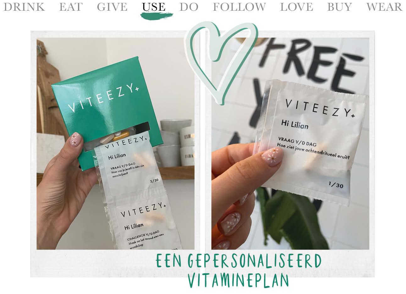 Today we use Viteezy
