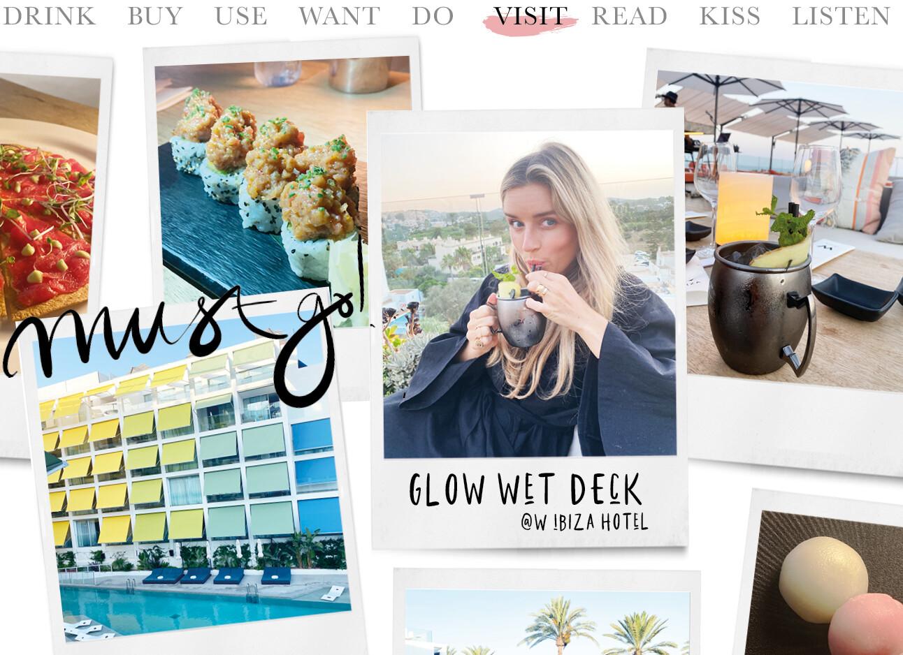 Glow WET deck