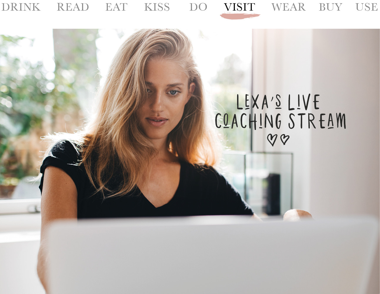 Today we visit Lexa's live coaching stream