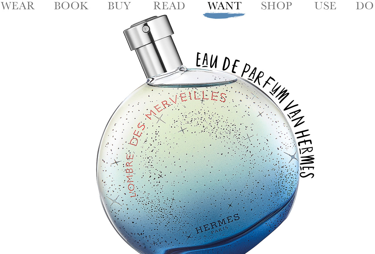 Today we want L'Ombre des Merveilles Eau de Parfum van Hermès