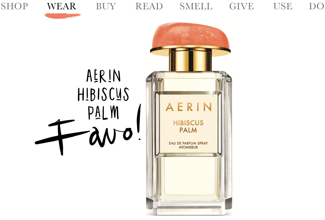 Today we wear Aerin Hibiscus Palm