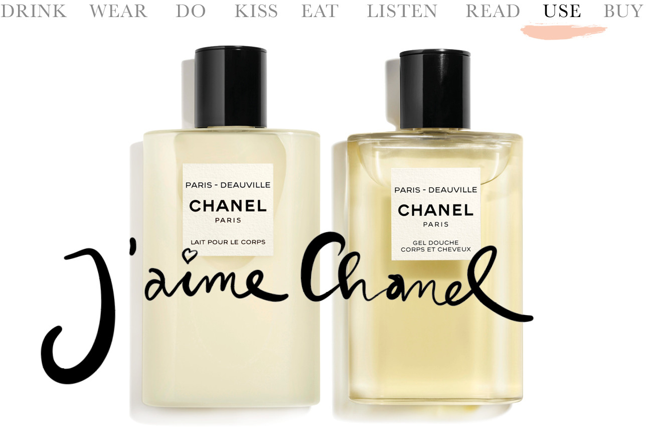 Chanel deauville body lotion en douche gel