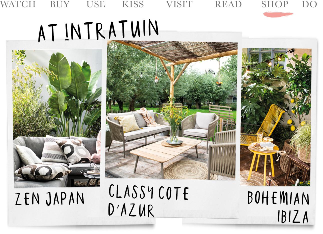 intratuin, tuinen, classy cote dazur, ze n japan en bohemian ibiza