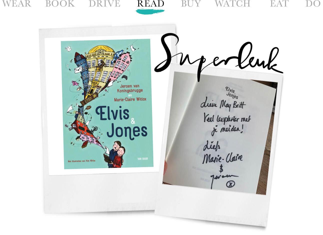 Elvis & Jones boek