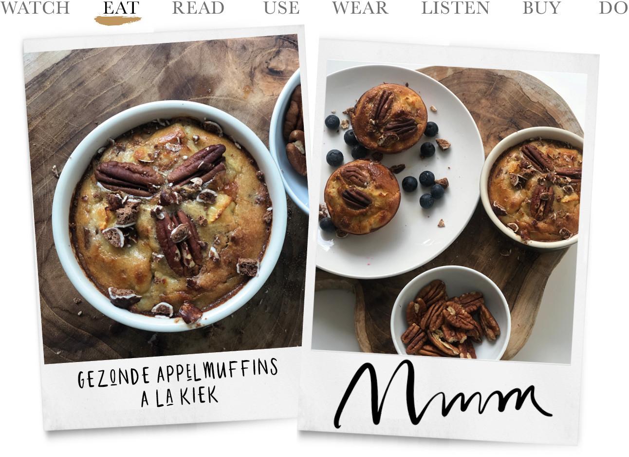 Eat: de inmiddels legendary ontbijtmuffins