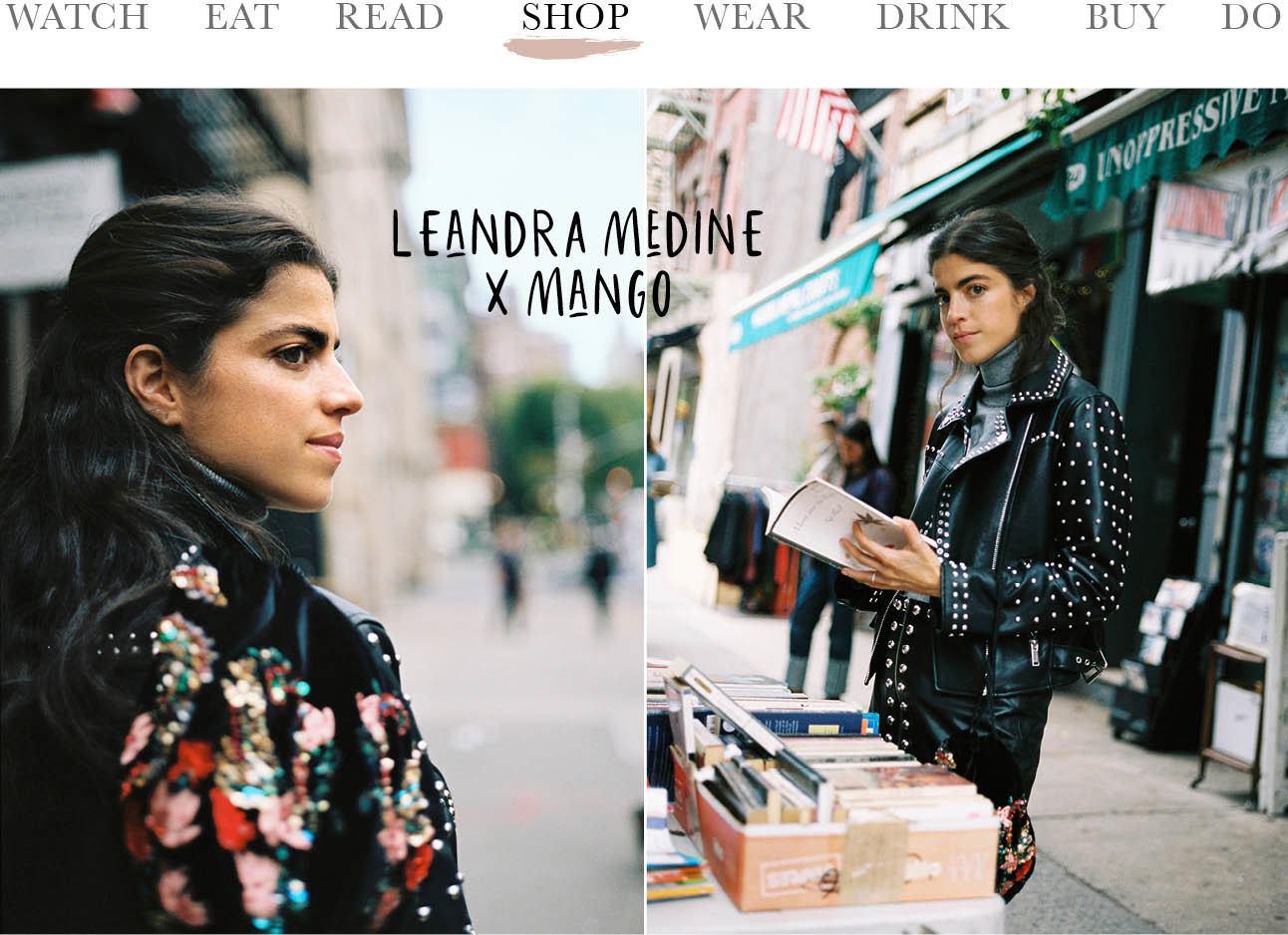 Today we shop - Leandra Medine x Mango