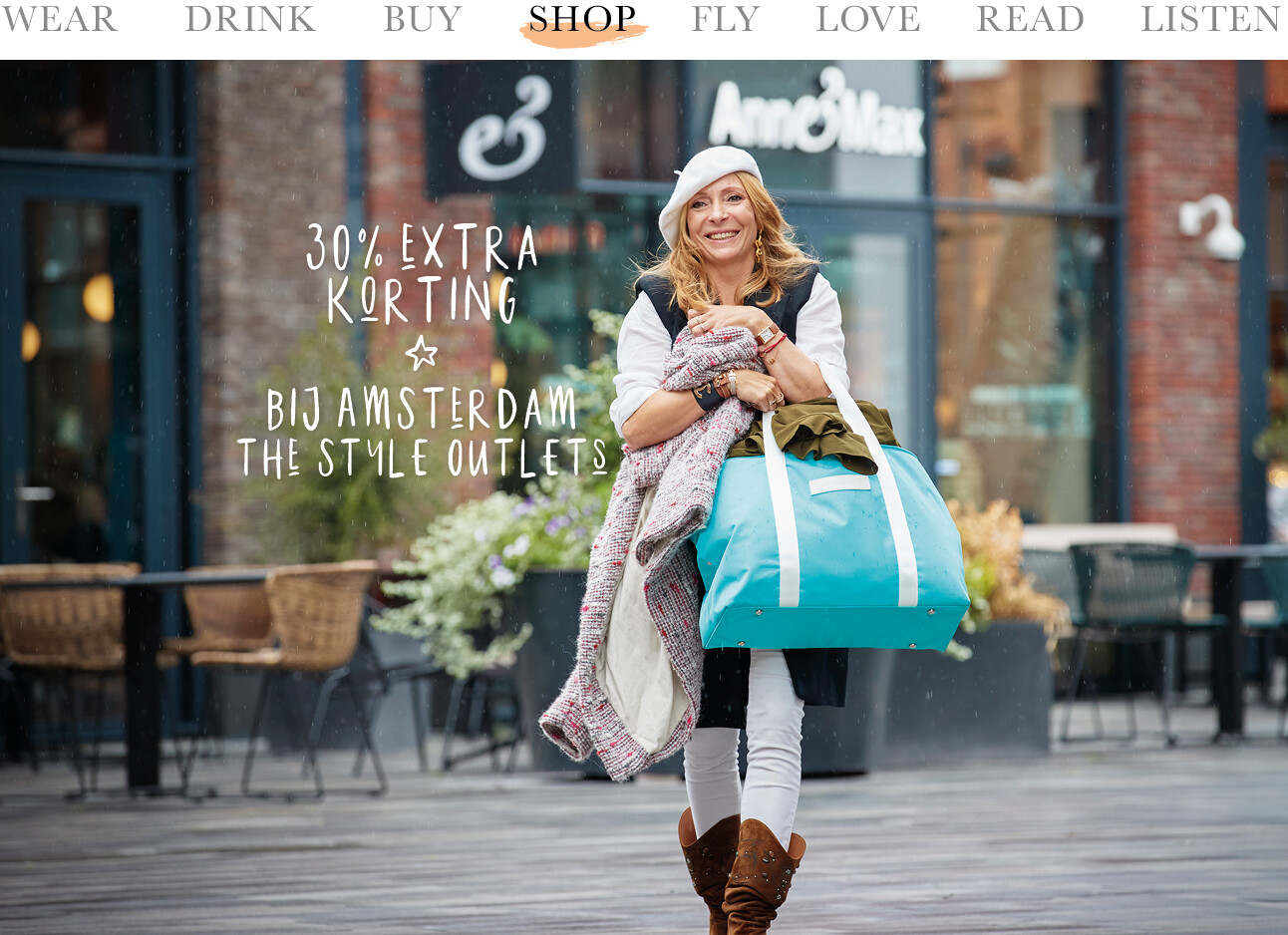 May shoppen bij Amsterdam The Style oulets
