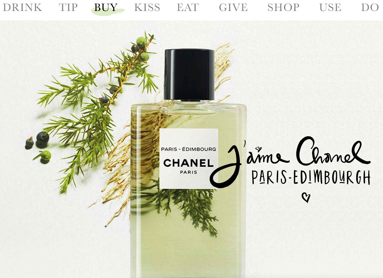 Today we.. Buy Paris-Edimbourgh CHANEL