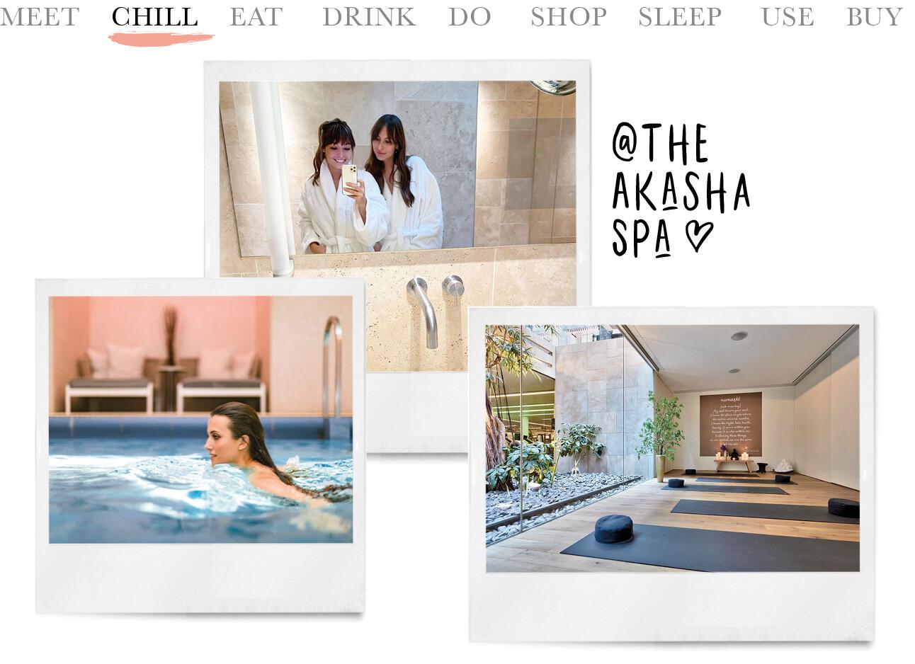 chill at the Akasha Spa