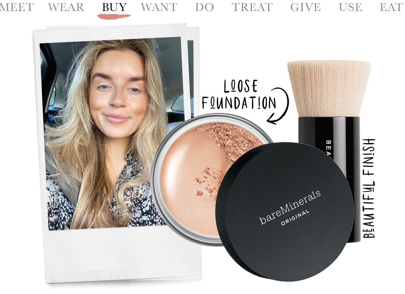 Lotte van scherpenzeel bareminerals foundation