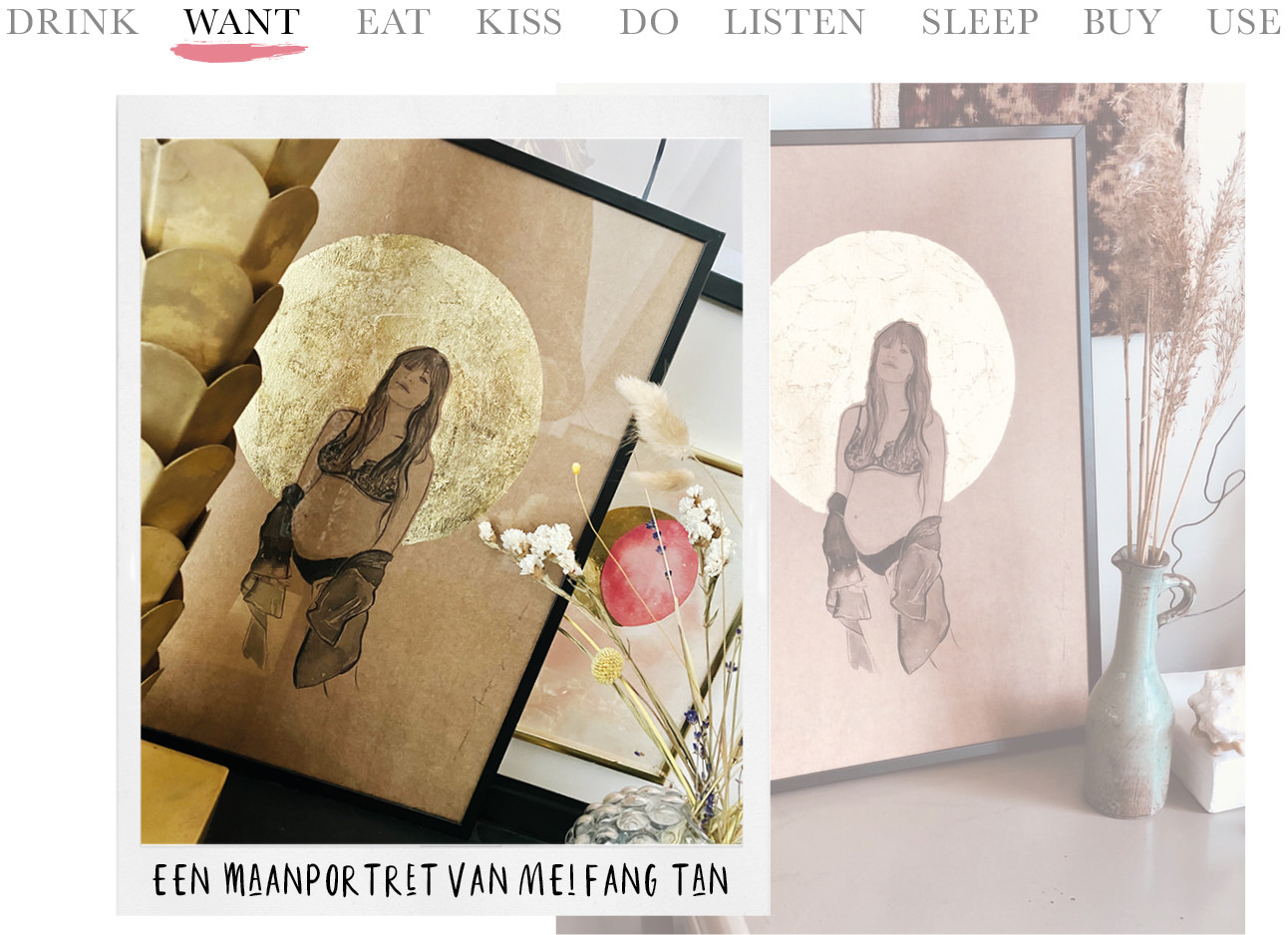 Today we want - een maanportret van Mei Fang Tan
