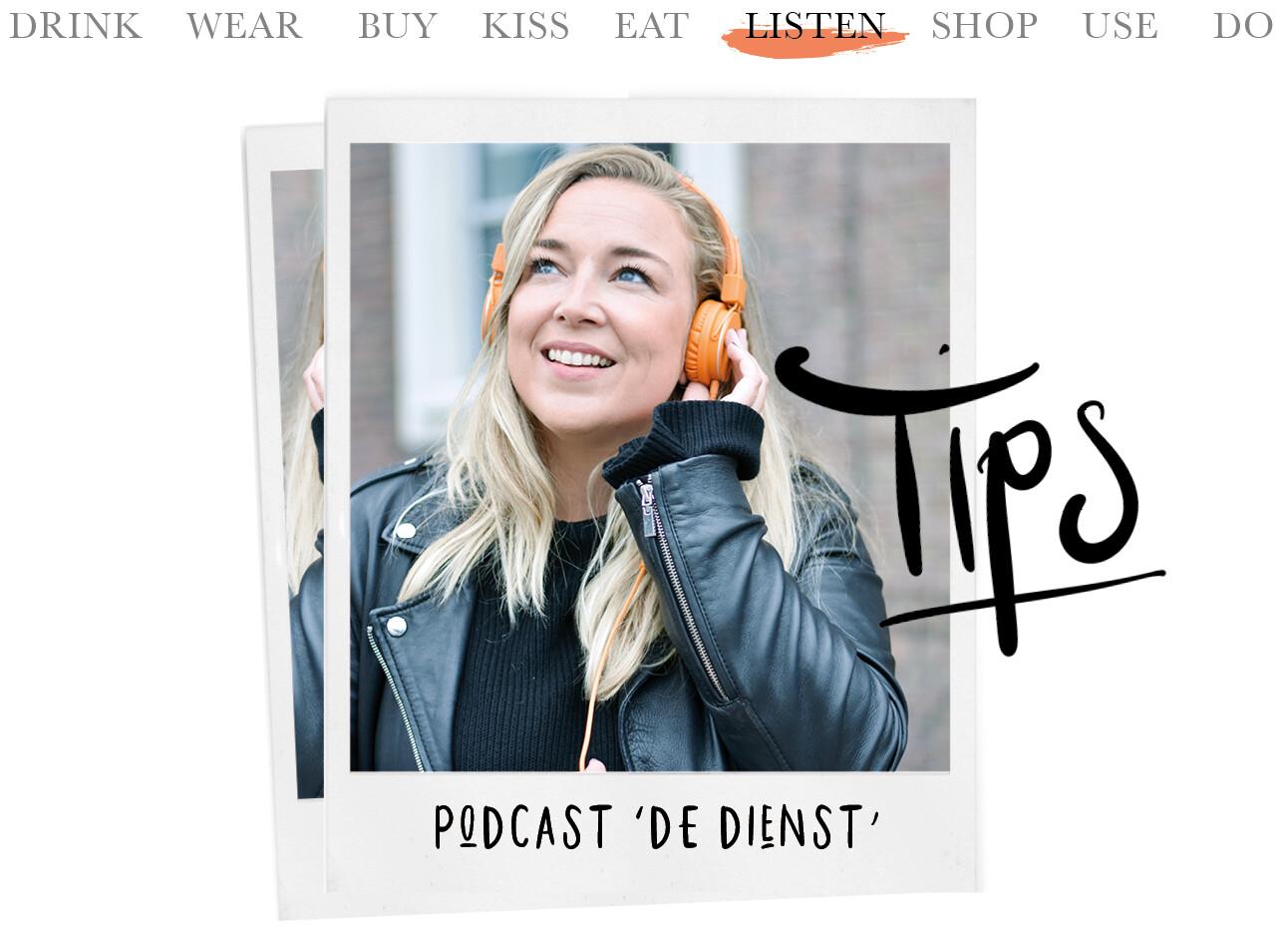 Today we listen podcast De Dienst