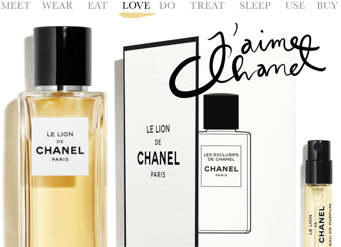Today we…love Le Lion van Chanel