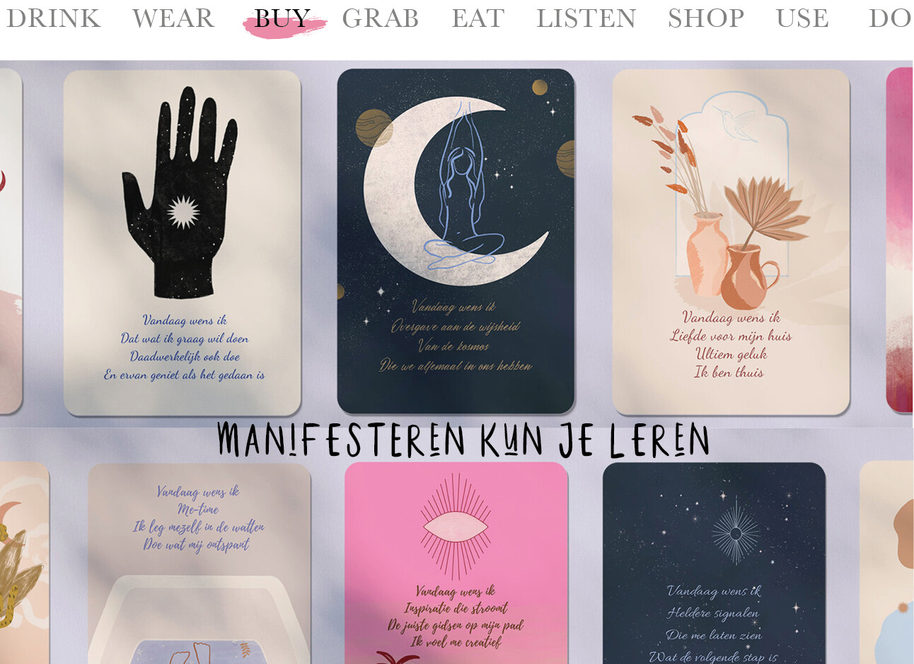 Today we buy manifesteren kun je leren