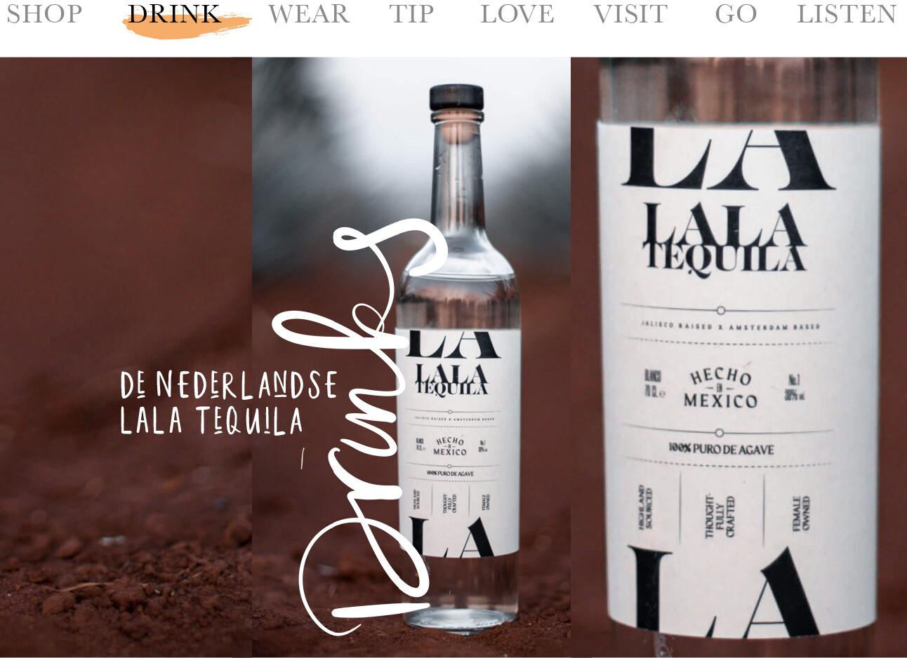 Nederlandse LALA Tequila