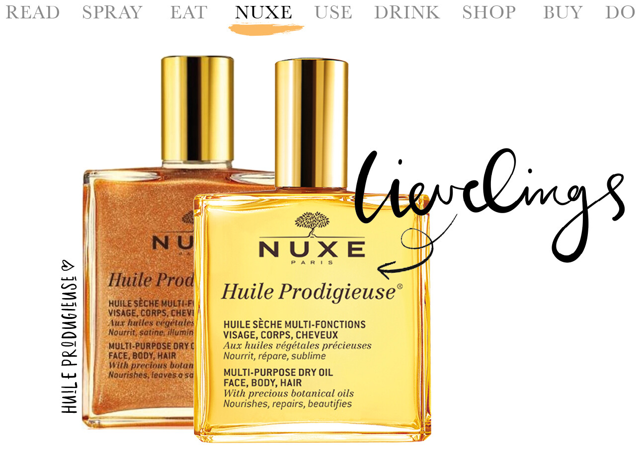 today we nuxe