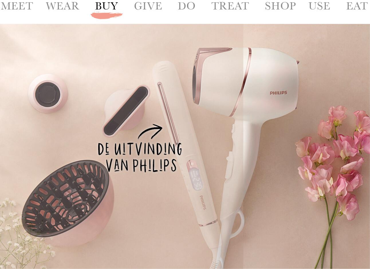 Philips fohn en stijltang