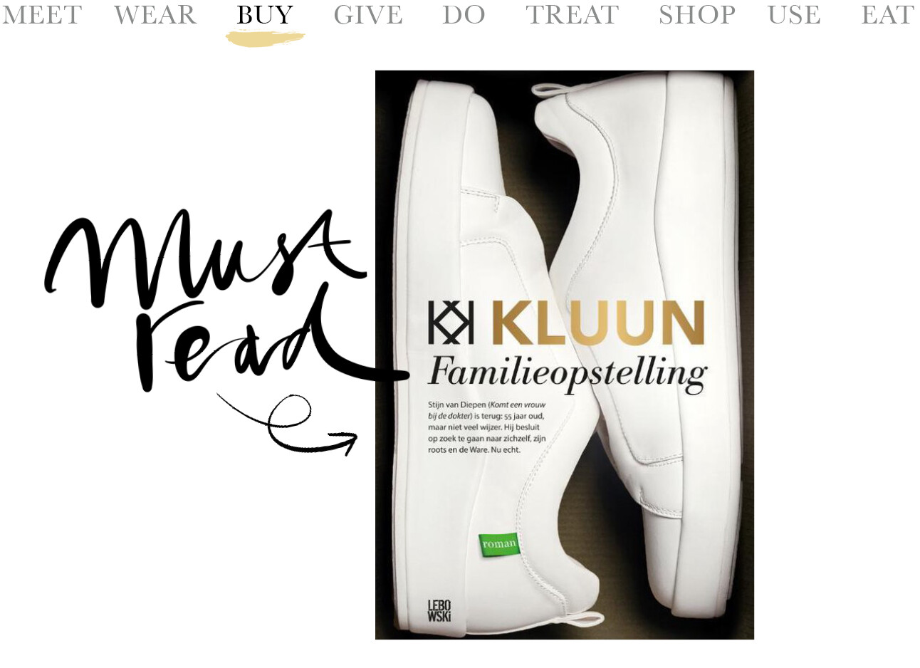 Today we…buy De nieuwe Kluun