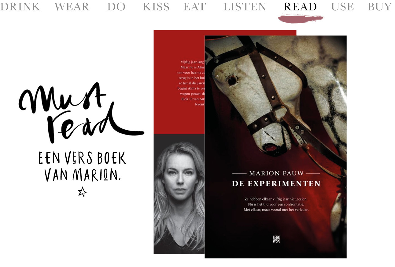 Marion Pauw boek must read