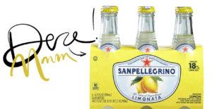 Today we drink: San Pellegrino Limonata