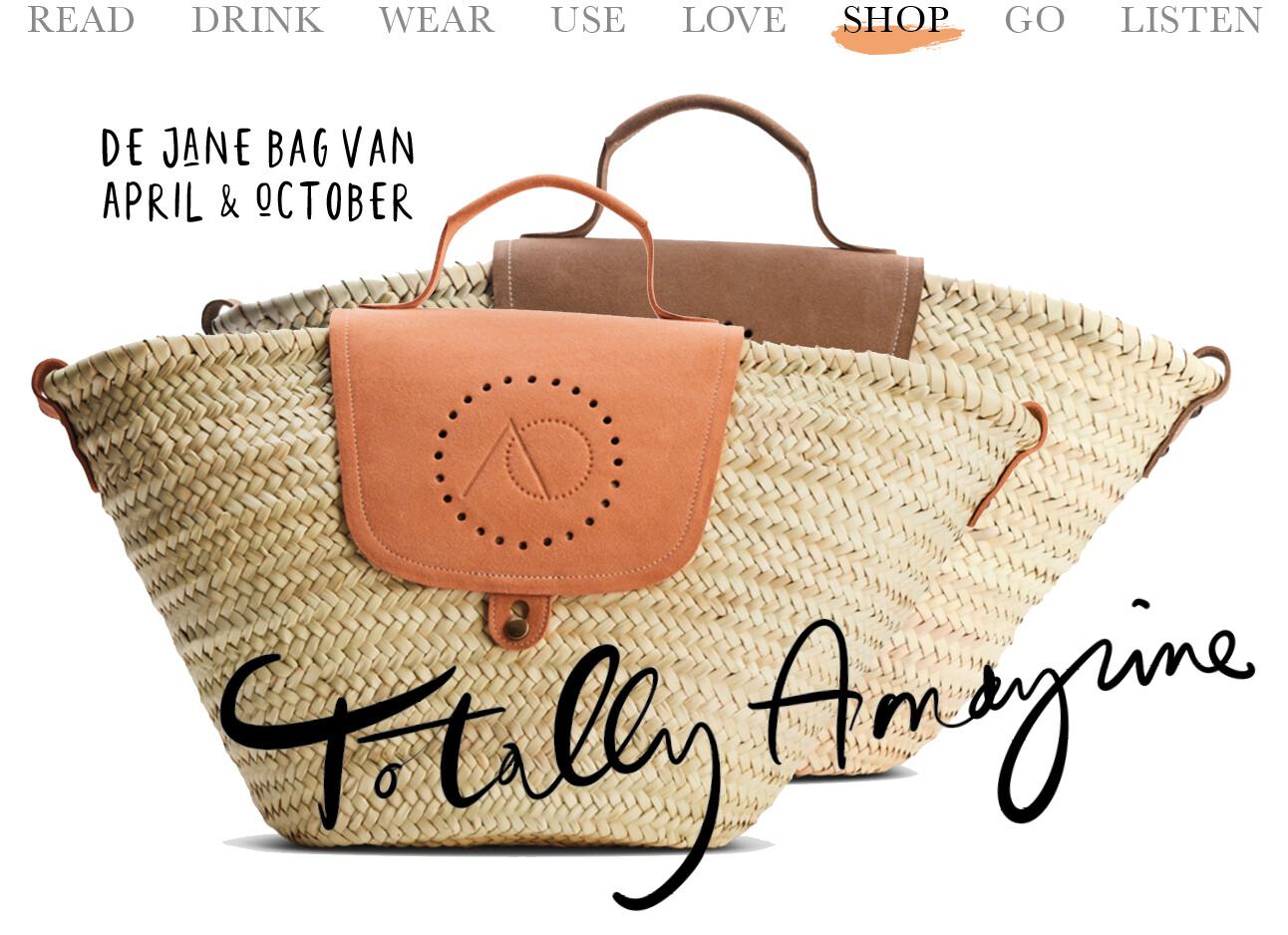 de Jane bag van April & October.