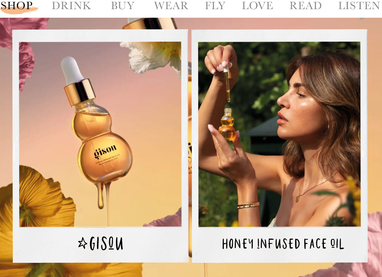 Honey Infused Face Oil