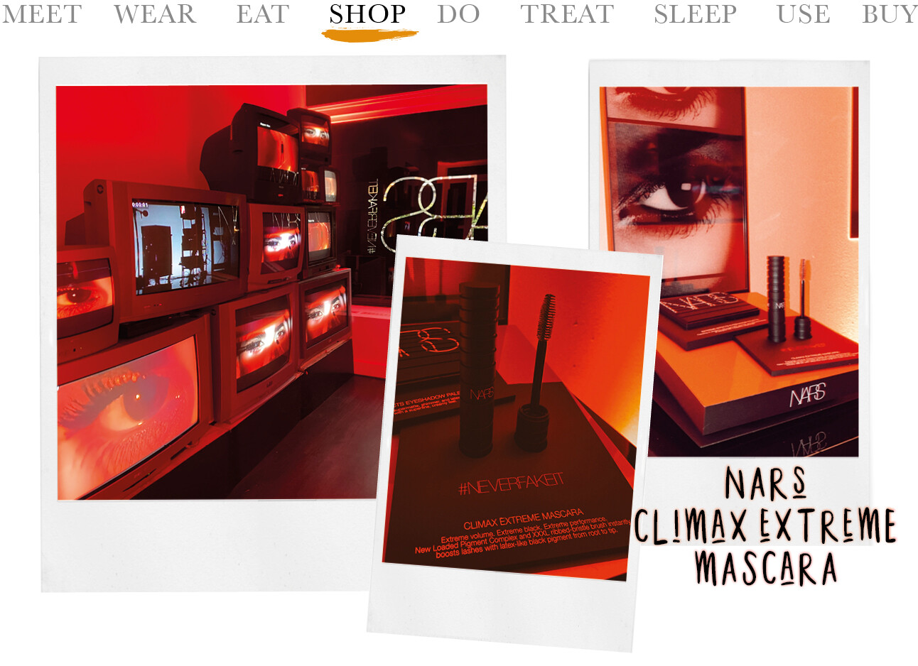 Today we shop: Nars Extreme Climax mascara