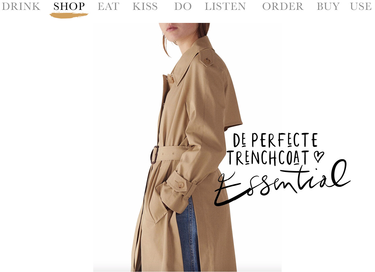 Today we shop - de perfecte trenchcoat
