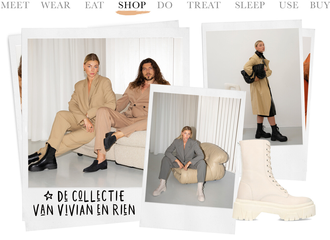 Today we shop de collectie van Vivian en Rien