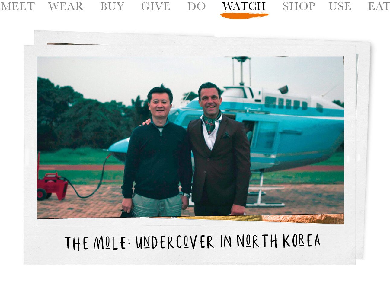 The Mole: Undercover in North Korea